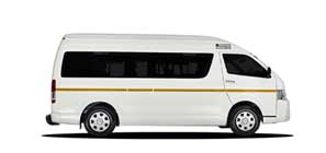 Group WH Toyota Quantum 14 Seater or similar